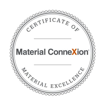 Material Connexion Certificate of Excellence for Decafé